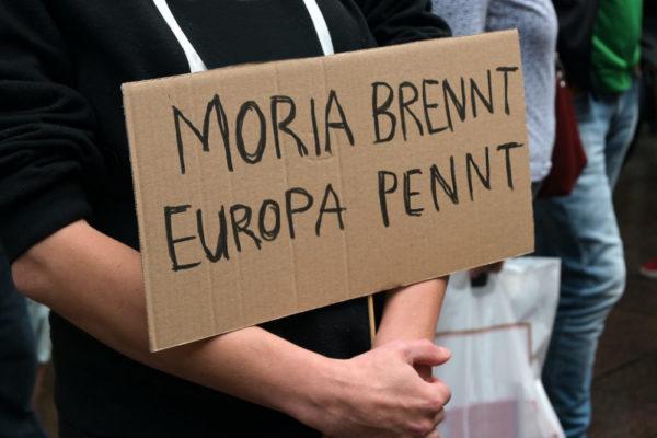 inSi fordert Soforthilfe für Moria!