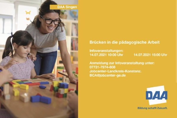 Pädagogische Berufe finden