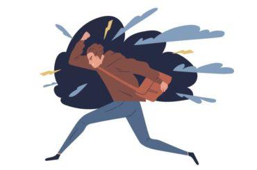 Frust-Wut-Traurigkeit-Mann-zum-Davonlaufen