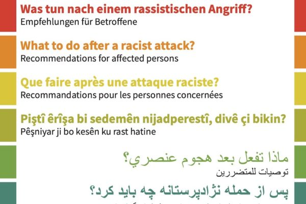 Was tun nach Rassismus-Angriff?