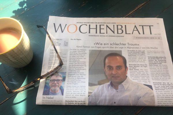 Wochenblatt berichtet über Afghanistan